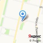 Итальянка на карте Архангельска
