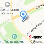 Администрация г. Архангельска на карте Архангельска