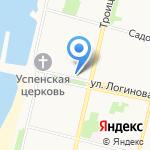 ВиноГРАД на карте Архангельска