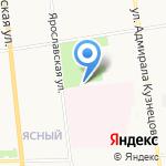Орден на карте Архангельска