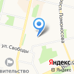 Зеленый Кардамон на карте Архангельска