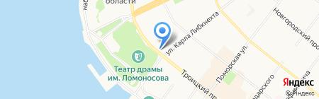 Cavaletto на карте Архангельска