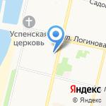 Блин Хаус на карте Архангельска