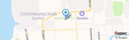 Кабинет социальной реабилитации на карте Архангельска