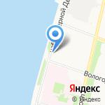 Ресо-Гарантия на карте Архангельска