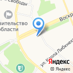 Монолит СТ на карте Архангельска
