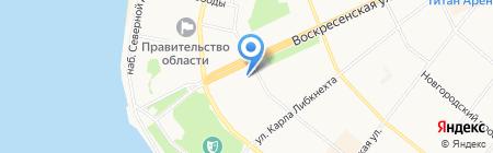 29Bus на карте Архангельска