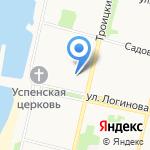 Апрель на карте Архангельска