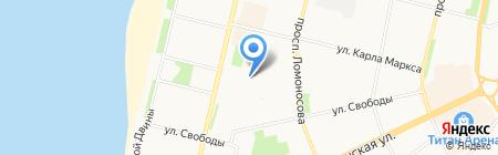 Центр охраны прав детства на карте Архангельска