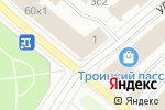 Схема проезда до компании Секрет в Архангельске