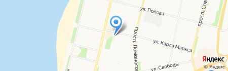 PERFECT на карте Архангельска