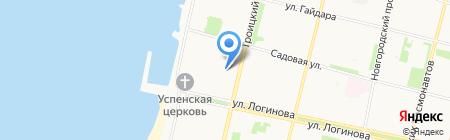 Магазин мёда на карте Архангельска