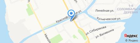 На Советской на карте Архангельска