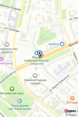 ТУРОПЕРАТОР ОЛИМПИКТРЭВЕЛ на карте Архангельска