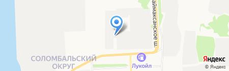 ДекАрт на карте Архангельска