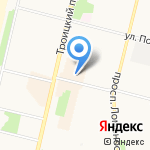 ЮникС на карте Архангельска