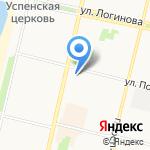 Центральная кофейня на карте Архангельска