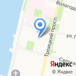Федеральная служба государственной регистрации на карте Архангельска