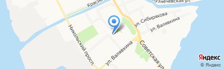 Соломбальский дом детского творчества на карте Архангельска