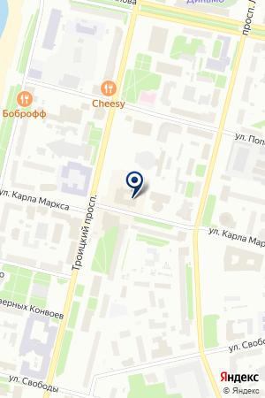 МЕБЕЛЬНЫЙ МАГАЗИН ДОМ на карте Архангельска