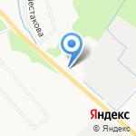 Верески на карте Архангельска