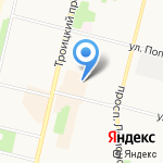 TG на карте Архангельска