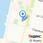 СКК на карте Архангельска