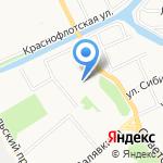Няня-клуб на карте Архангельска