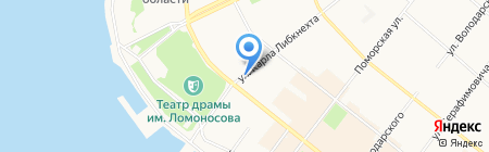 Жажда стиля на карте Архангельска