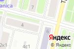 Схема проезда до компании Архпромкомплект в Архангельске