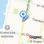 Росгосстрах-жизнь на карте Архангельска
