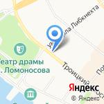 Кондитерская лавка на карте Архангельска