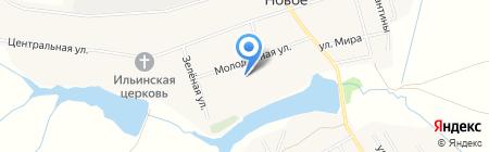 Новосельская средняя общеобразовательная школа на карте Боголюбово