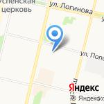 Море квартир на карте Архангельска