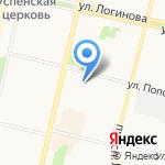 Аквилон-Инвест на карте Архангельска