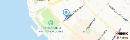 Альтернатива на карте Архангельска