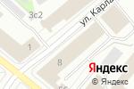Схема проезда до компании Мегуми в Архангельске