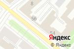 Схема проезда до компании Vape.ru в Архангельске