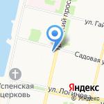 Архангельский колледж культуры и искусства на карте Архангельска
