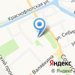 Созвездие на карте Архангельска