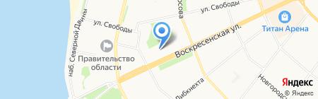 Антресоль на карте Архангельска