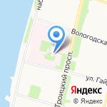 Скафандр на карте Архангельска