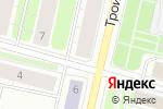 Схема проезда до компании Ямайка в Архангельске