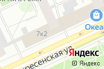 Схема проезда до компании Афина в Архангельске
