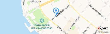 Miele Партнер на карте Архангельска