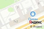 Схема проезда до компании Центр Ломбардов в Архангельске