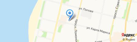 Санкт-Петербургская Школа Телевидения на карте Архангельска