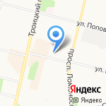 Ремонтная мастерская на карте Архангельска
