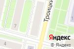 Схема проезда до компании Карта Вин в Архангельске