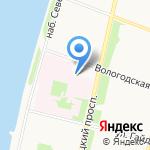Аргос Недвижимость на карте Архангельска